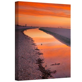 Steve Ainsworth 'Captiva Sunset' Gallery-Wrapped Canvas
