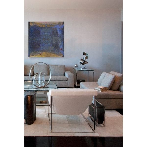Shop Oliver Gal 'Golden Beach' Abstract Wall Art Print On