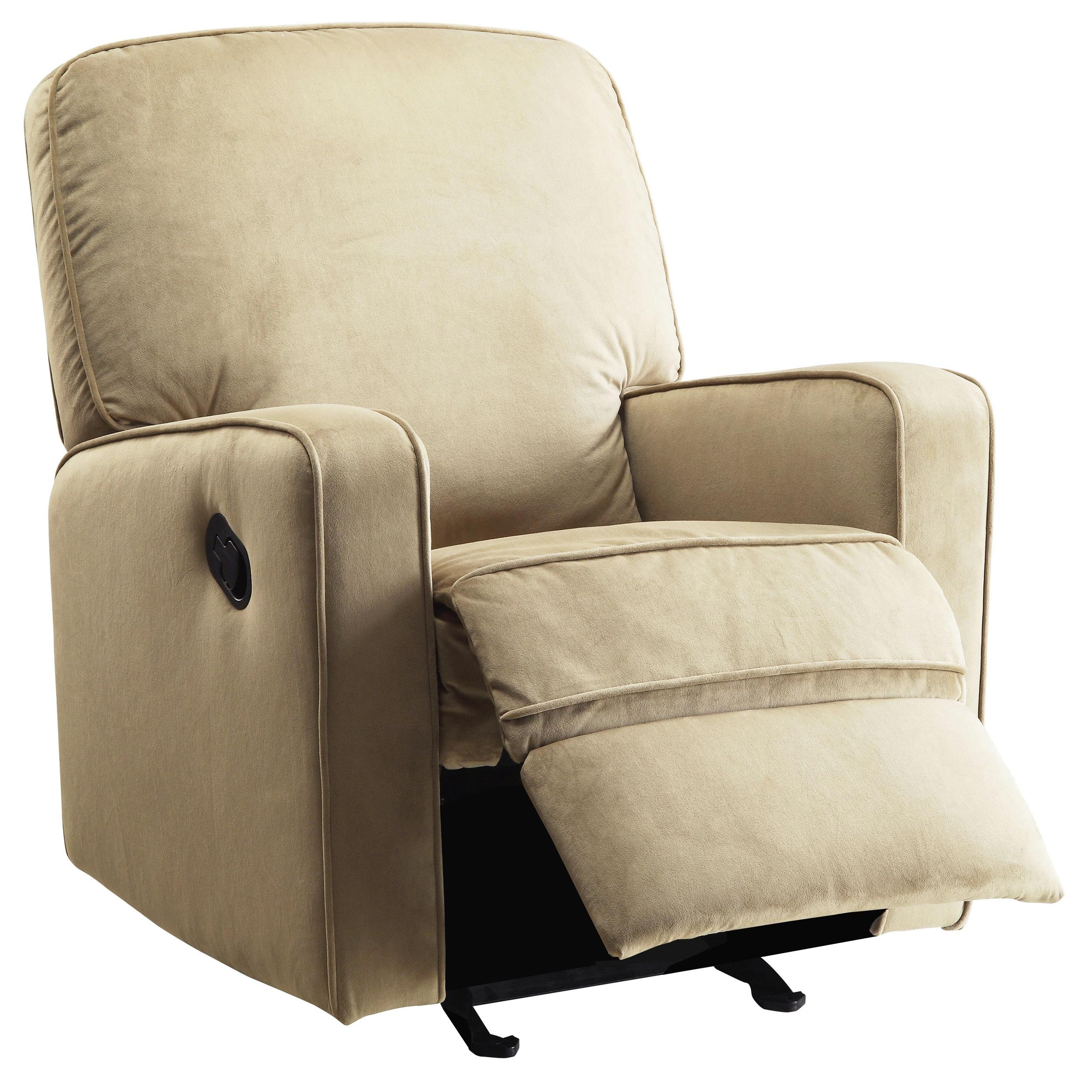 Modern Nursery Swivel Glider Recliner Chair