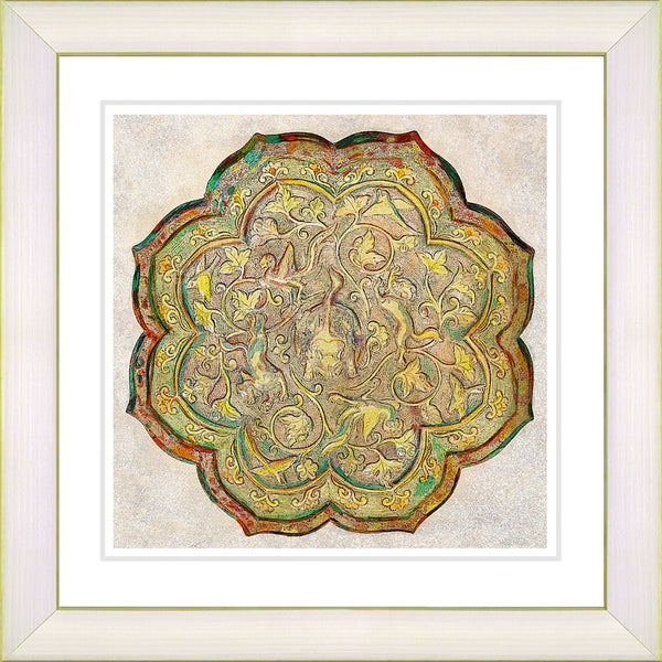Studio Works Modern 'Platos - Bronze' Framed Print