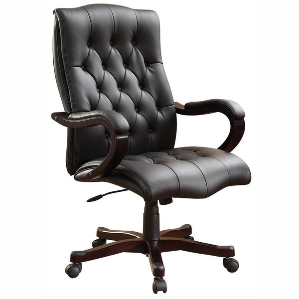 Bassett Inspired Office Chair Office Star Products Executive Chair - Free Shipping Today - Overstock ...