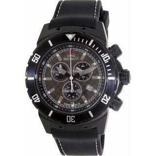 Swiss Precimax Men's 'Pursuit Pro Sport' Black Silicone Strap Swiss Chronograph Watch|https://ak1.ostkcdn.com/images/products/7942392/P15316805.jpg?impolicy=medium
