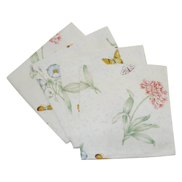 Shop Lenox Butterfly Meadow Napkins Set Of 12 Free