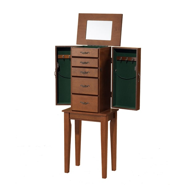 Solid Wood Jewelry Armoire