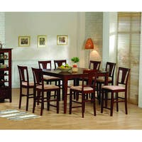 Coaster Company Dark Cherry Dining Table with 18-inch Panel Leaf