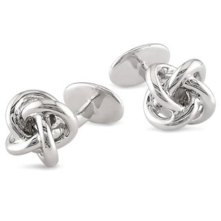 Miadora Sterling Silver Cuff Links