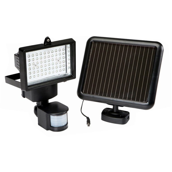 Shop 60 Led Garage Sensor Security Solar Light Free Shipping Today Overstock 7942661