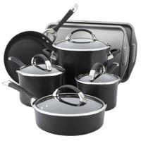 Circulon Symmetry Hard Anodized Nonstick 9-piece Cookware Set with 2-piece Bakeware Set