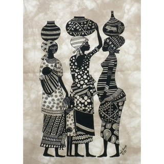 Handmade Market Women Heidi Lange Screen Print (Kenya)