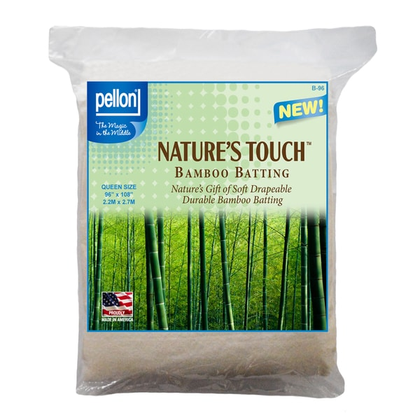 Pellon Queen-size Natures Touch 90 x 108-inch Rayon from Bamboo Blend Batting with Scrim