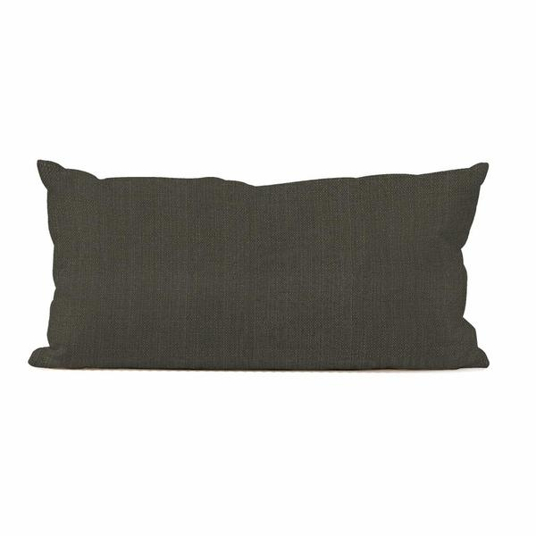Sterling Charcoal Kidney Decorative Pillow