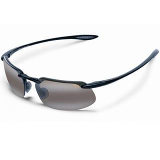 Maui Jim Unisex 'Kanaha' H409 02 Semi Rimless Sport Sunglasses