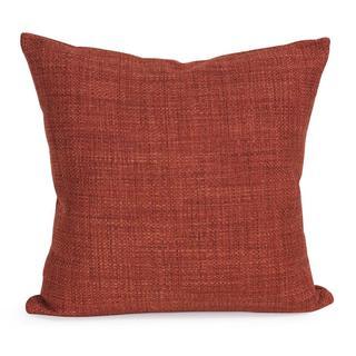 Coco Coral Square Decorative Throw Pillow