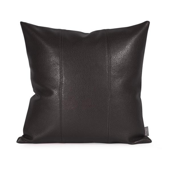 Shop Avanti Black Pillow 16 X 16 Free Shipping On