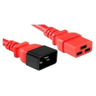 APC Cables C20 to C19, 20A/250V 12/3 SJT Red, 3FT