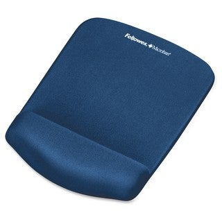 Fellowes PlushTouch Mouse Pad Wrist Rest with Microban -