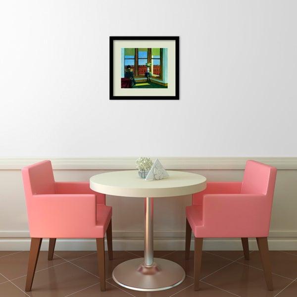 """/""""Room in Brooklyn/"""" Framed Print By Edward Hopper"""