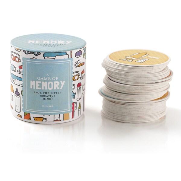 Basic Grey Memory Card Game