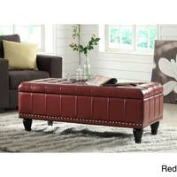OSP Home Furnishings Caldwell Storage Ottoman