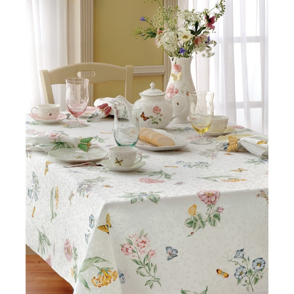 Shop Lenox Butterfly Meadow Table Cloth Free Shipping On