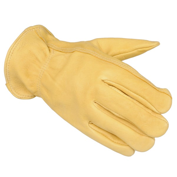 Boston Traveler Men's Fleece Lined Utility Deerskin Gloves