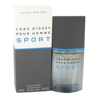 Issey Miyake L'Eau d'Issey Pour Homme Sport Men's 1.6-ounce Eau de Toilette Spray