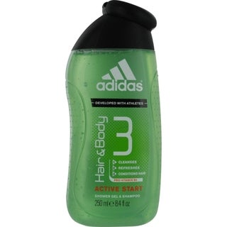 Adidas Hair and Body 3 Men's 8.4-ounce Shower Gel and Shampoo