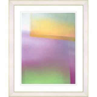 Studio Works Modern 'Umfolozi - Yellow' Framed Print