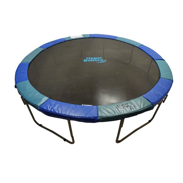 14 Ft Trampoline Combo Bounce Jump Safety W Spring Pad: Upper Bounce 14-foot Super Trampoline Safety Pad
