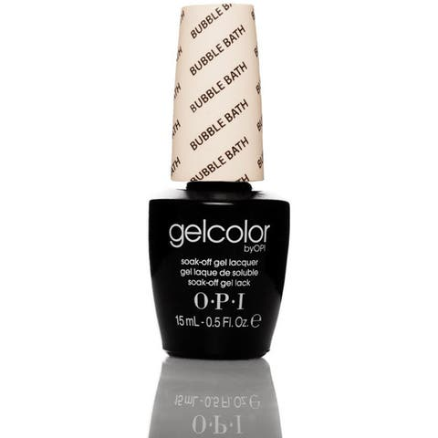 OPI Gelcolor Bubble Bath Soak-Off Gel Lacquer