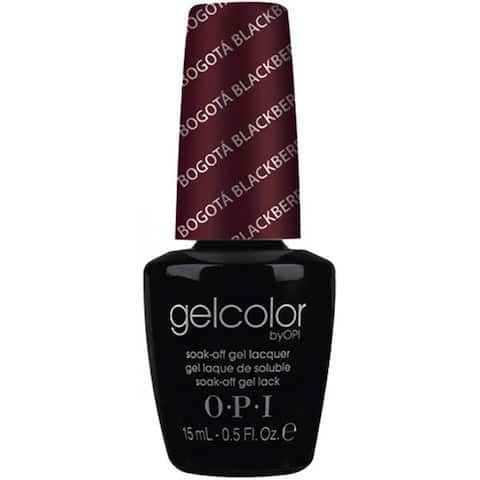 OPI Gelcolor Bogota Blackberry Soak-Off Gel Lacquer
