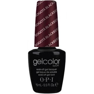 OPI Gelcolor Bogota Blackberry Soak-Off Gel Lacquer
