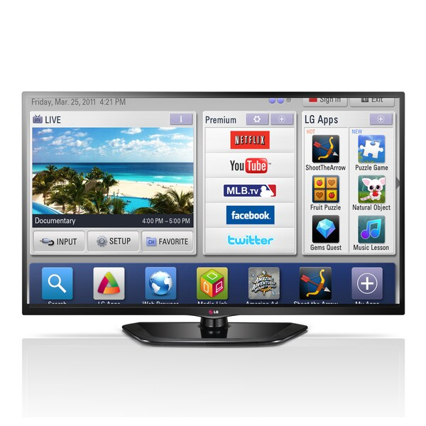 """LG 50LN5700 50"""" 1080p 120Hz LED Smart TV"""