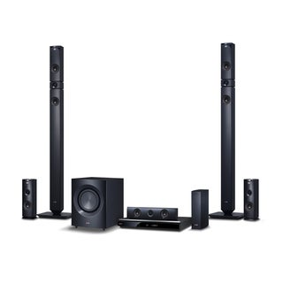 LG BH9431PW 5.1 3D Home Theater System - 1460 W RMS - Blu-ray Disc Pl