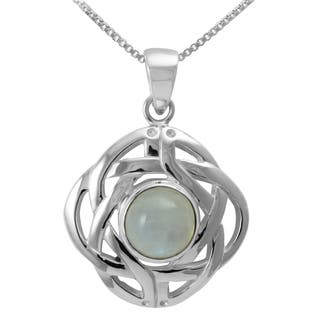 celtic moonstone necklace - 320×320