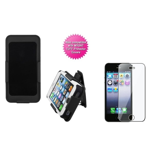 INSTEN Holster/ Screen Protector for Apple iPhone 5