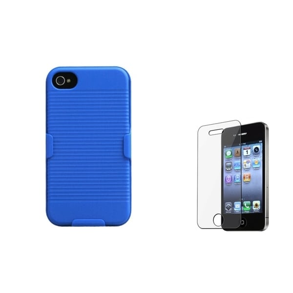 INSTEN Holster/ Screen Protector for Apple iPhone 4/ 4S