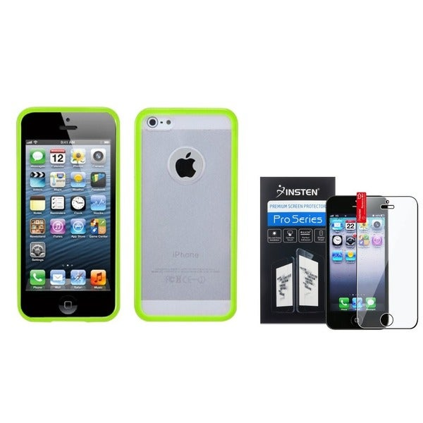 INSTEN Phone Case/ Screen Protector for Apple iPhone 5/ 5S/ SE