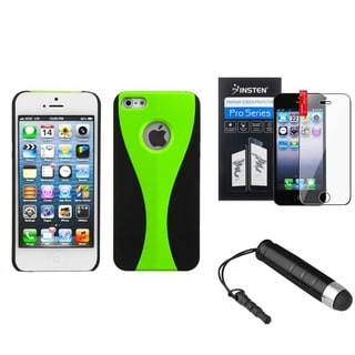 INSTEN Phone Case/ Protector/ Stylus for Apple iPhone 5/ 5S/ SE