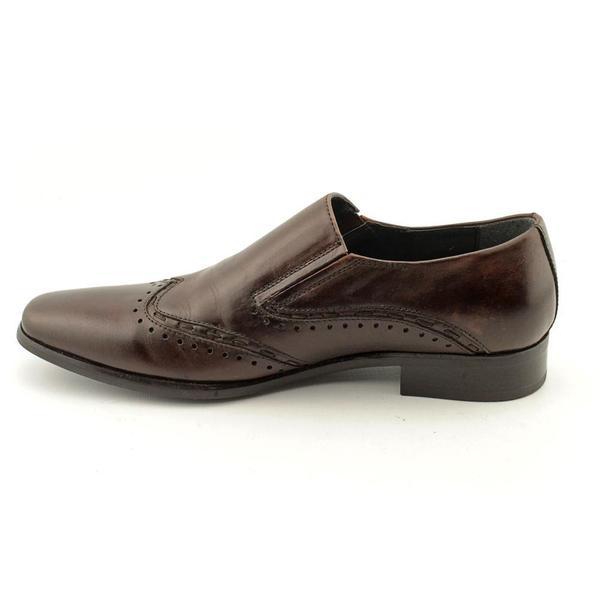Premire' Brown Leather Slip-on