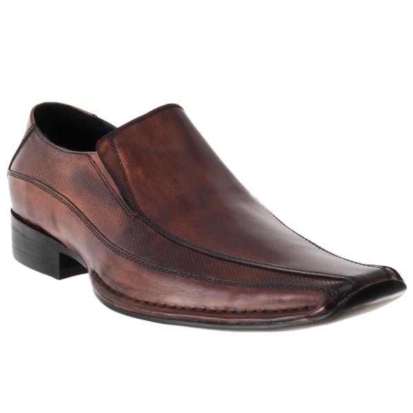 Steve Madden Men's 'Taberr' Leather Slip-on Dress Shoes