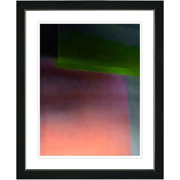 Studio Works Modern 'Umfolozi - Orange' Framed Print
