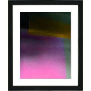 Studio Works Modern 'Umfolozi - Pink' Framed Print