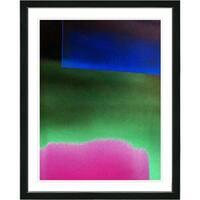 Studio Works Modern 'Green Umfolozi' Framed Fine Art Giclee Print