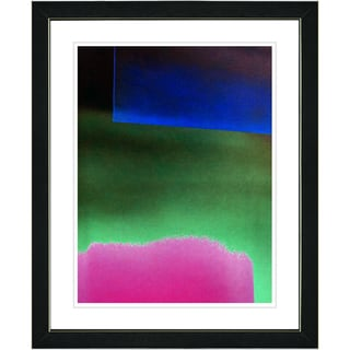 Studio Works Modern 'Umfolozi - Green' Framed Print