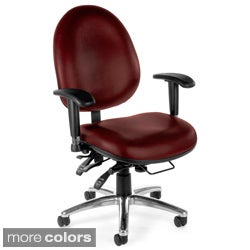 OFM 24-7 Vinyl Big and Tall Computer Task Chair
