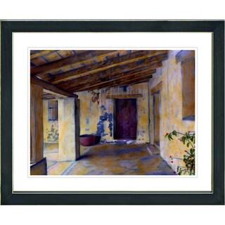 Studio Works Modern 'Mission Hallway' Framed Print