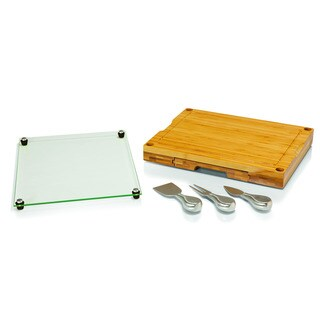 'Concerto' Cutting Board and Cheese Tool Set