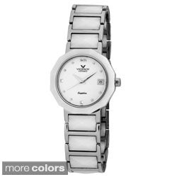 Viceroy Spain Women's Ceramica Faceted Watch