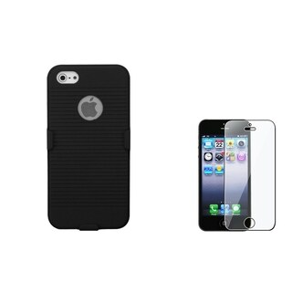 INSTEN Holster/ Screen Protector for Apple iPhone 5/ 5S/ SE